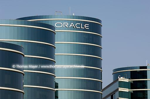 Oracle Headquarters Oracle Corporation is one of the largest software producers in the world, headquarters in Redwood Shores (Silicon Valley) California  020AT20051022D6087
